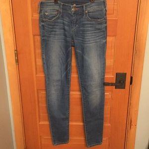 True religion skinny jeans. Size 26. Stretchy.
